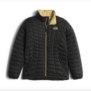 THE NORTH FACE THERMOBALL FULL ZIP JACKET GIRLS M